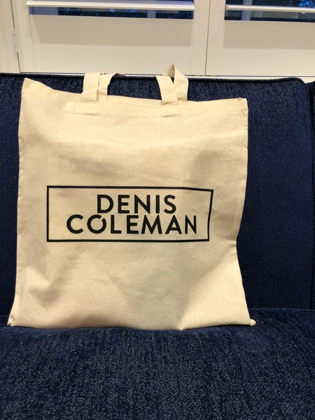 Image of Denis Coleman tote bag