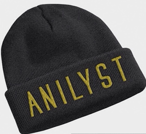 Image of Beanie (Gold & Black)