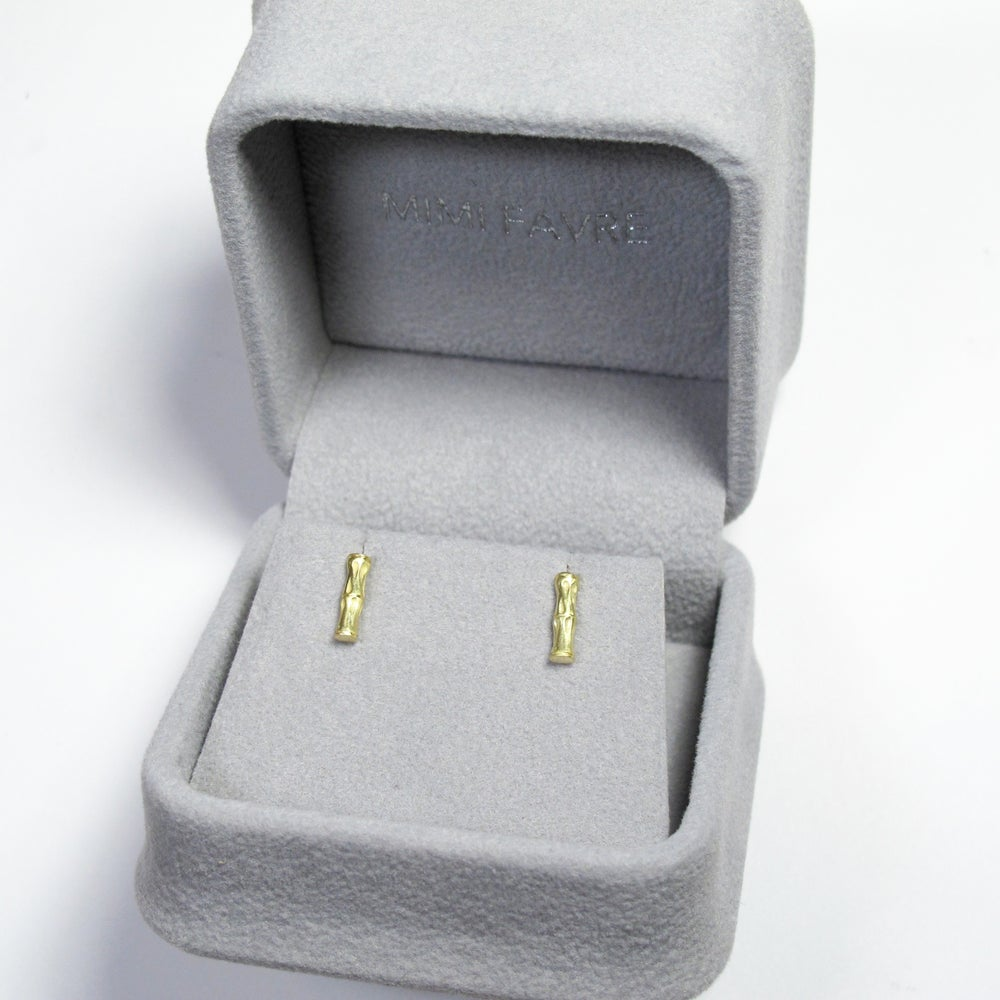 Image of Bamboo Stick Earring Stud