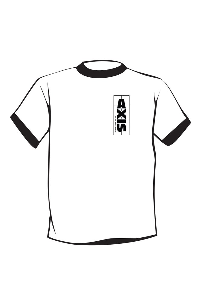 Image of Axis White Club T-shirt