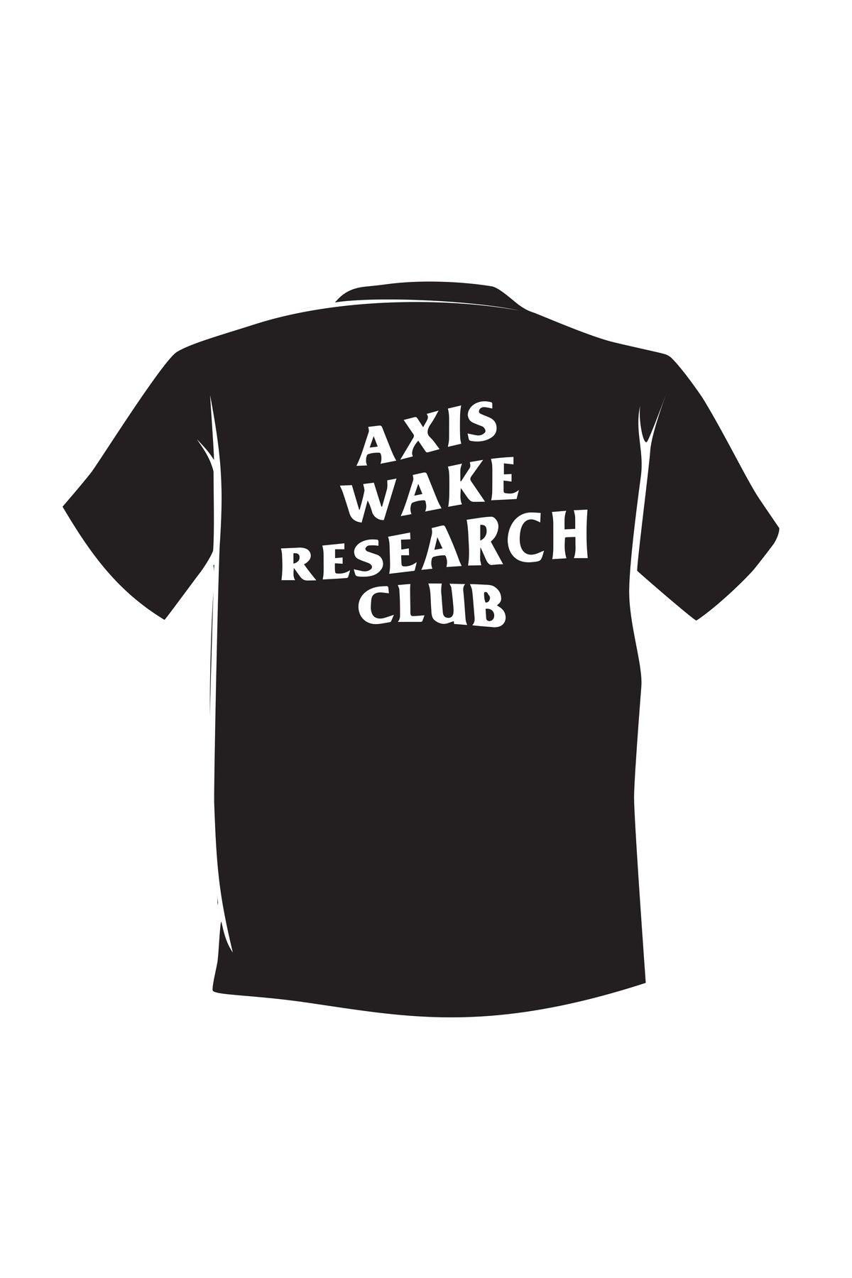 Image of Axis Club T-shirt - Jet Black