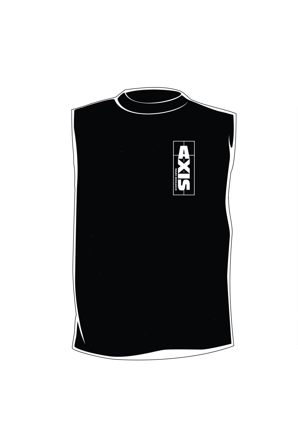 Image of Axis Tattoo Tank - Black