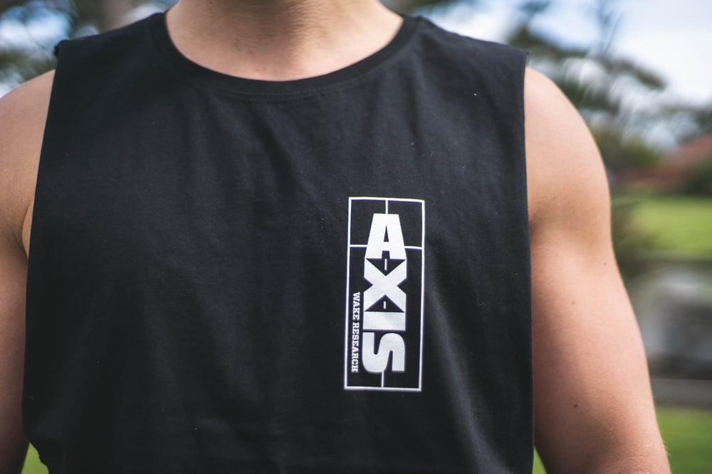 Image of Axis Tattoo Tank - Black