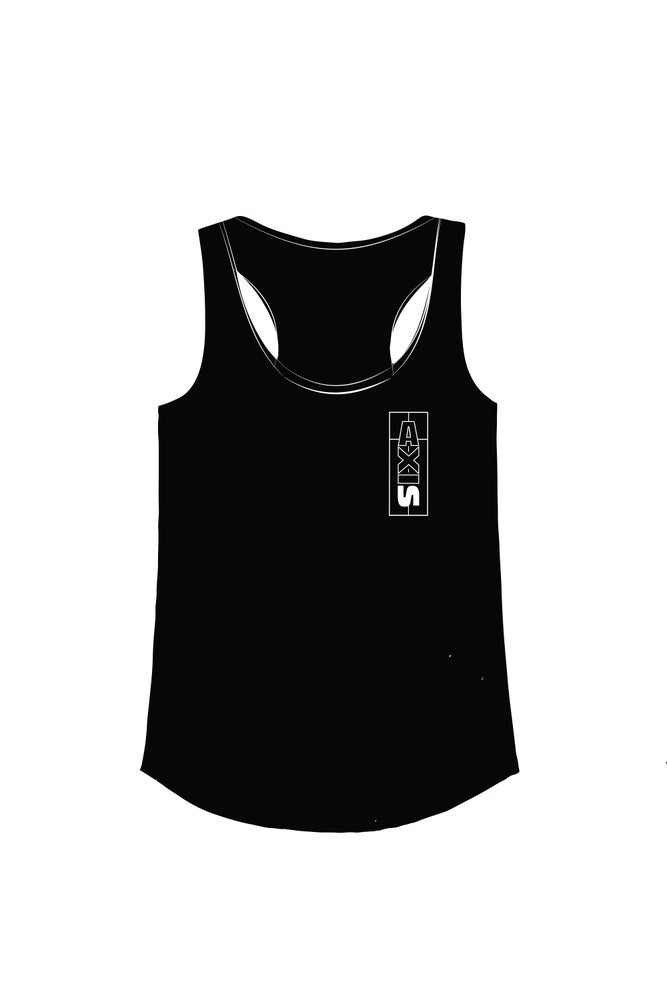 Image of Women's Tattoo Racerback Tank -Axis