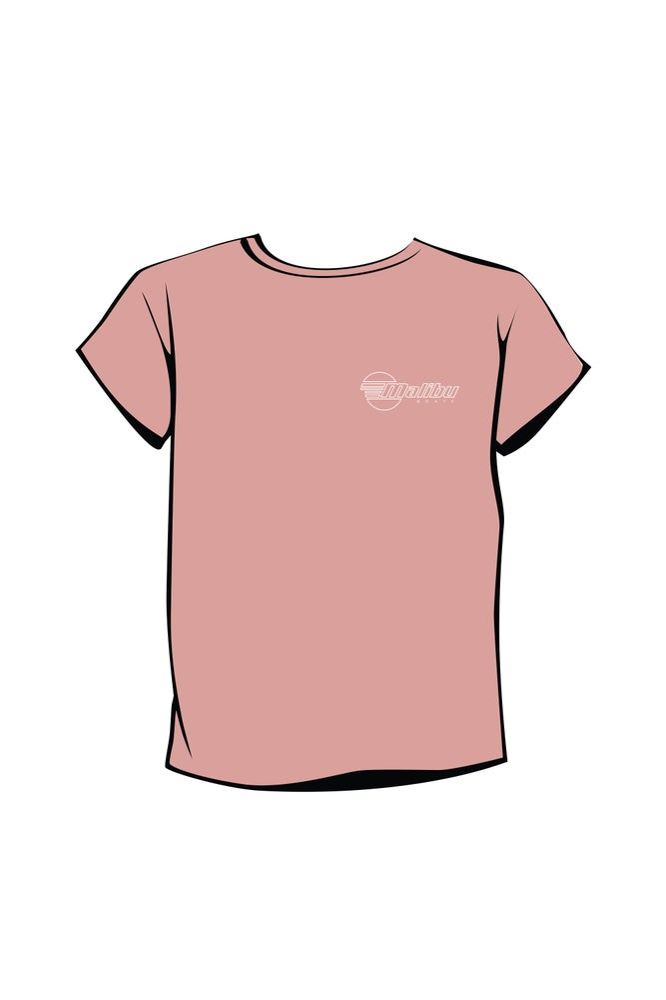Image of Malibu Women's T-shirt - Rose