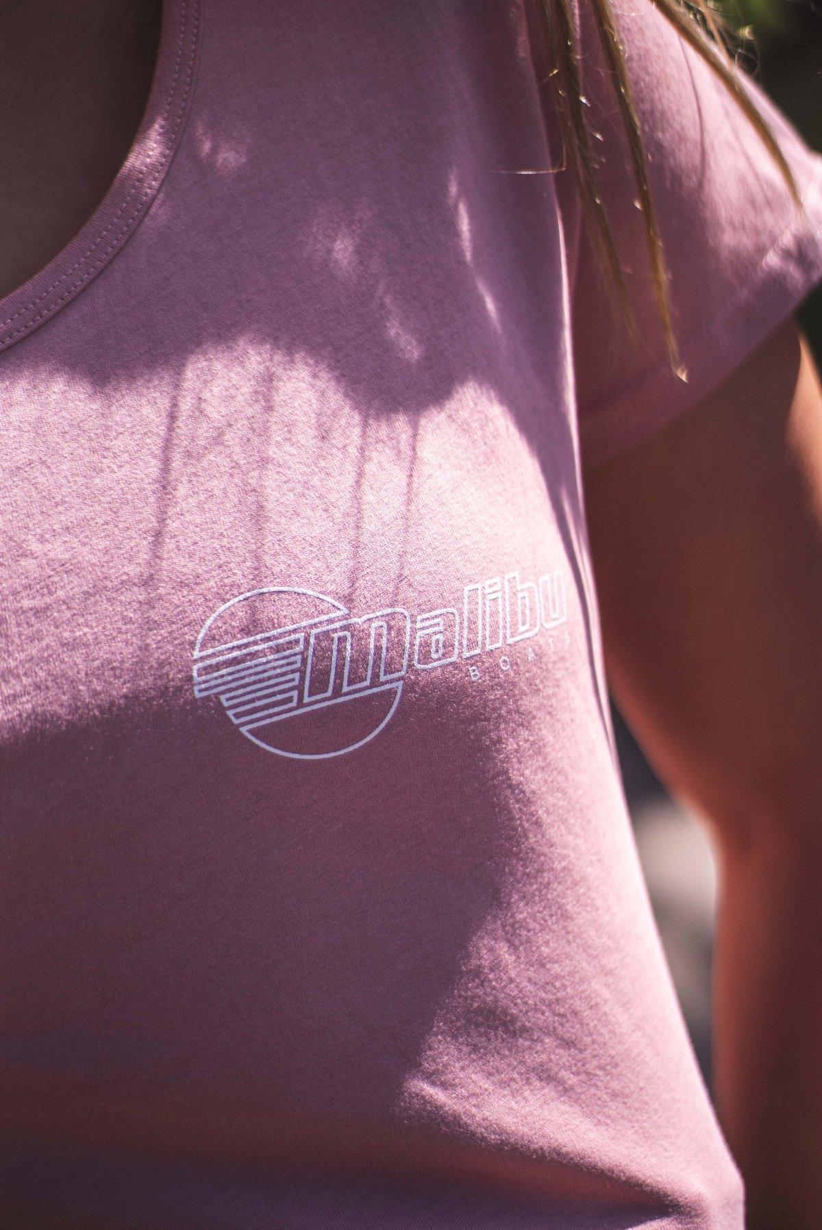 Image of Women's Summer T-shirt  - Dusty Pink