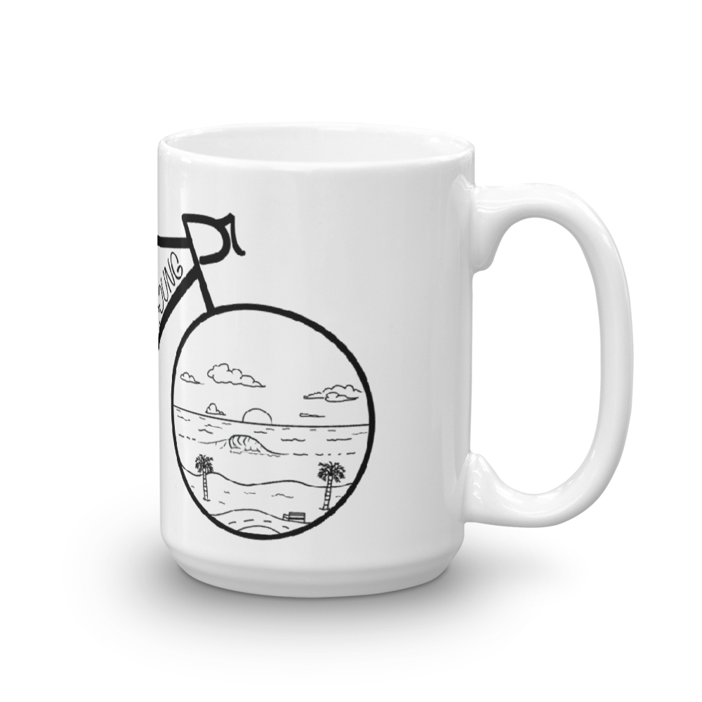 Image of Beach Bike Mug