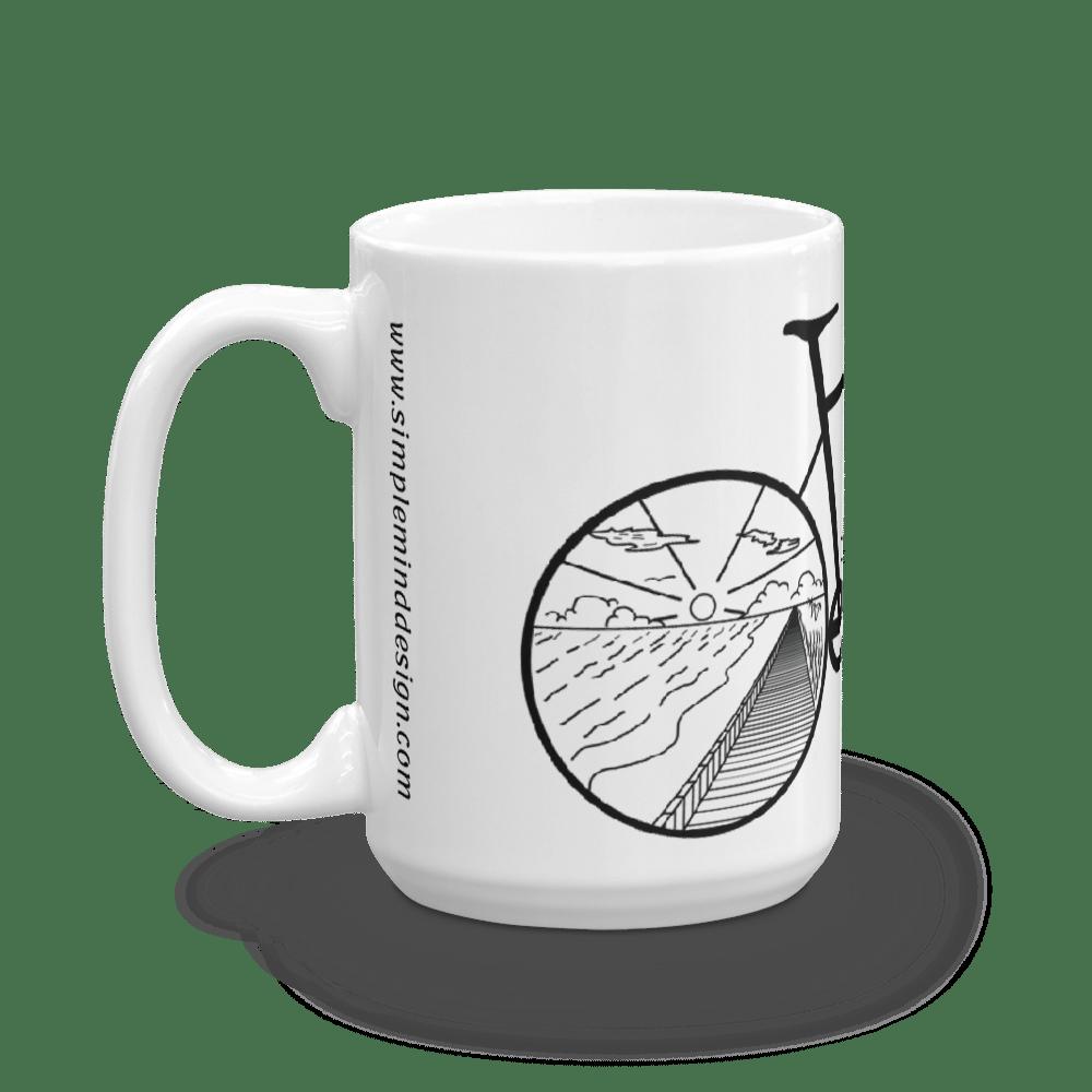 Image of Beach Bike Mug