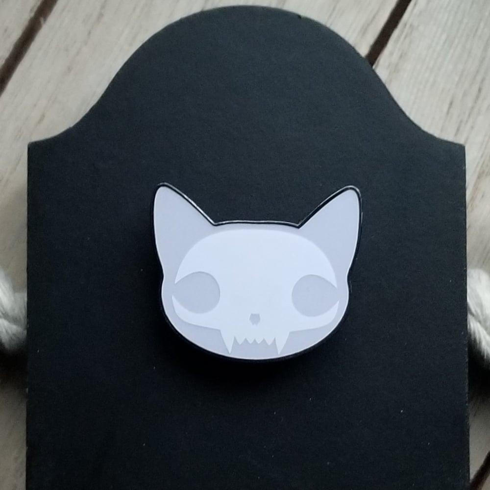 Image of Schrödinger's Cat Pin