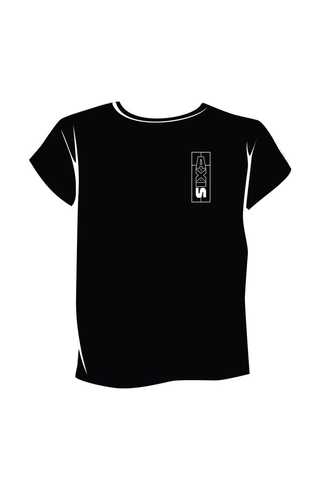 Image of Axis Women's T-shirt - Black