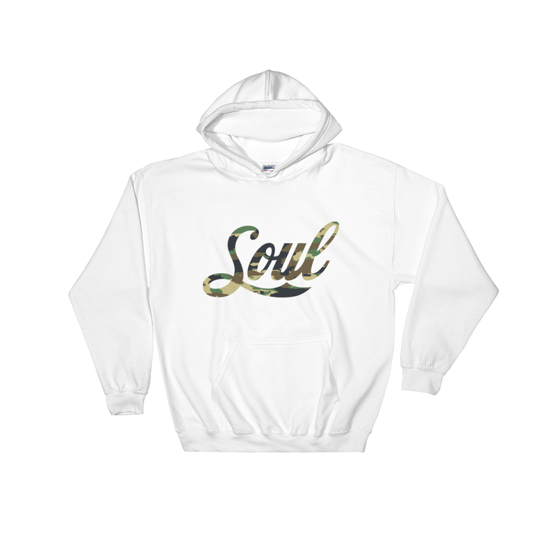 Image of Soul (camo/white) hoodie