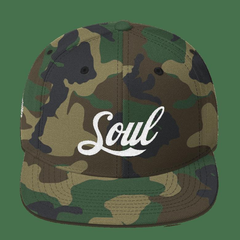 Image of Soul (camo/white SnapBack)