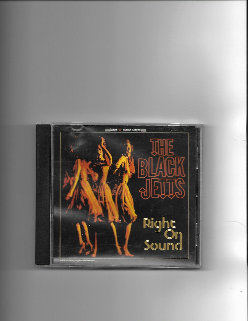 "Image of The Black Jetts ""Right on Sound"" CD"