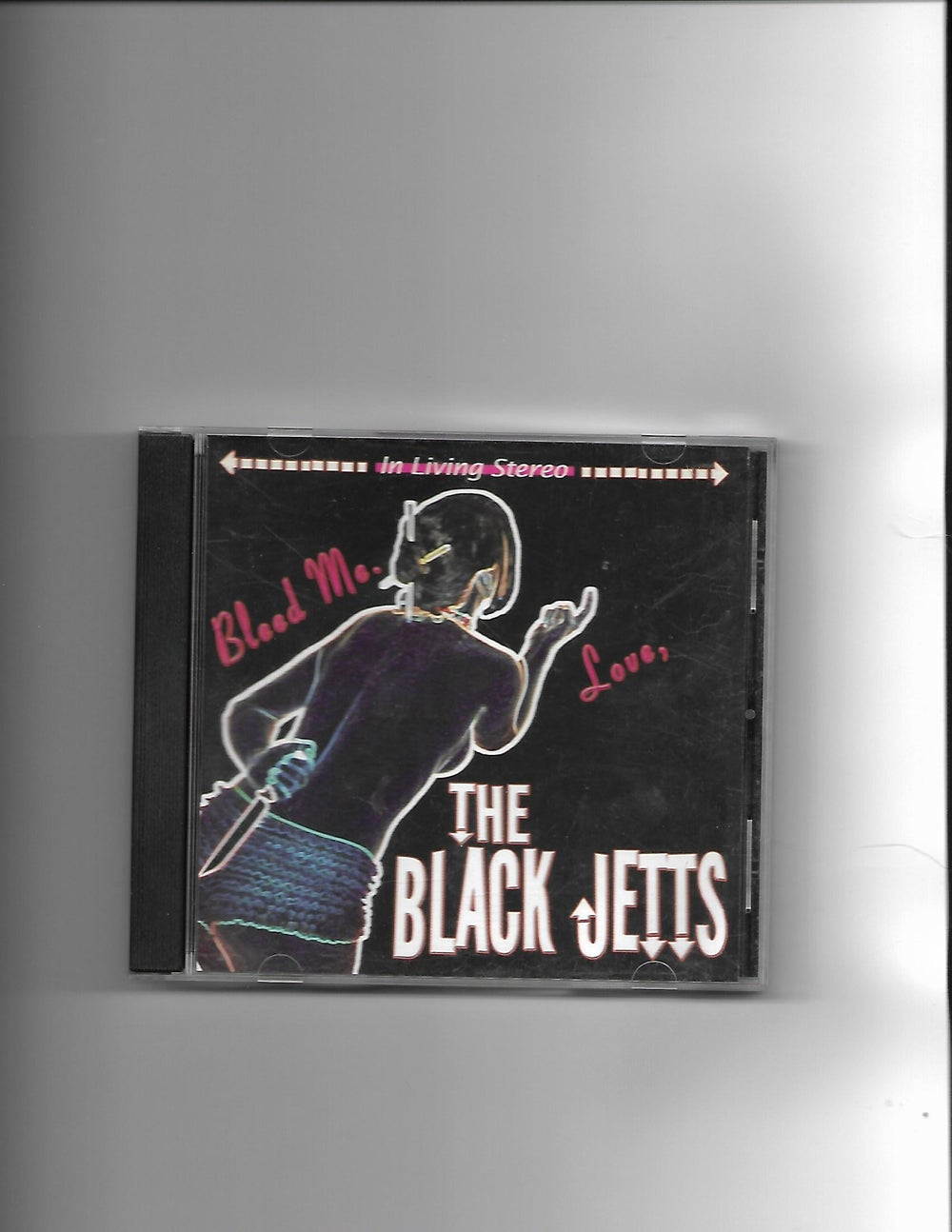 "Image of The Black Jetts ""Bleed Me Love"" CD"