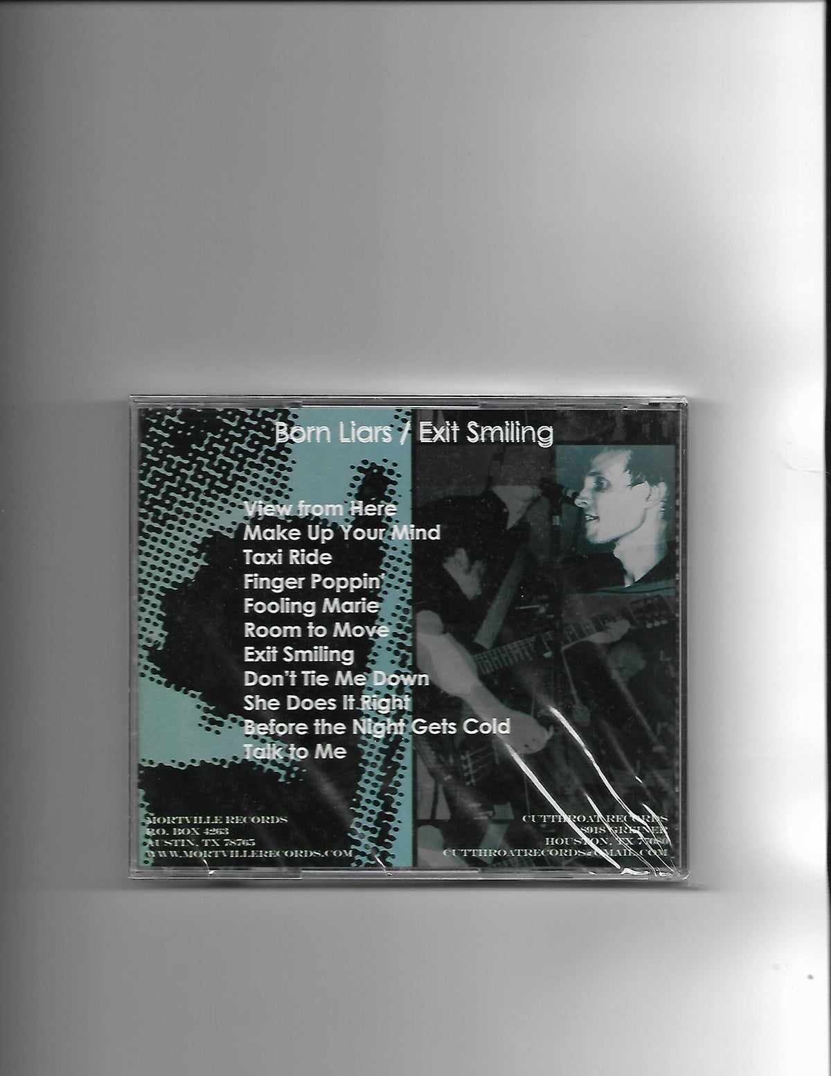 """Image of Born Liars """"Exit Smiling"""" CD"""