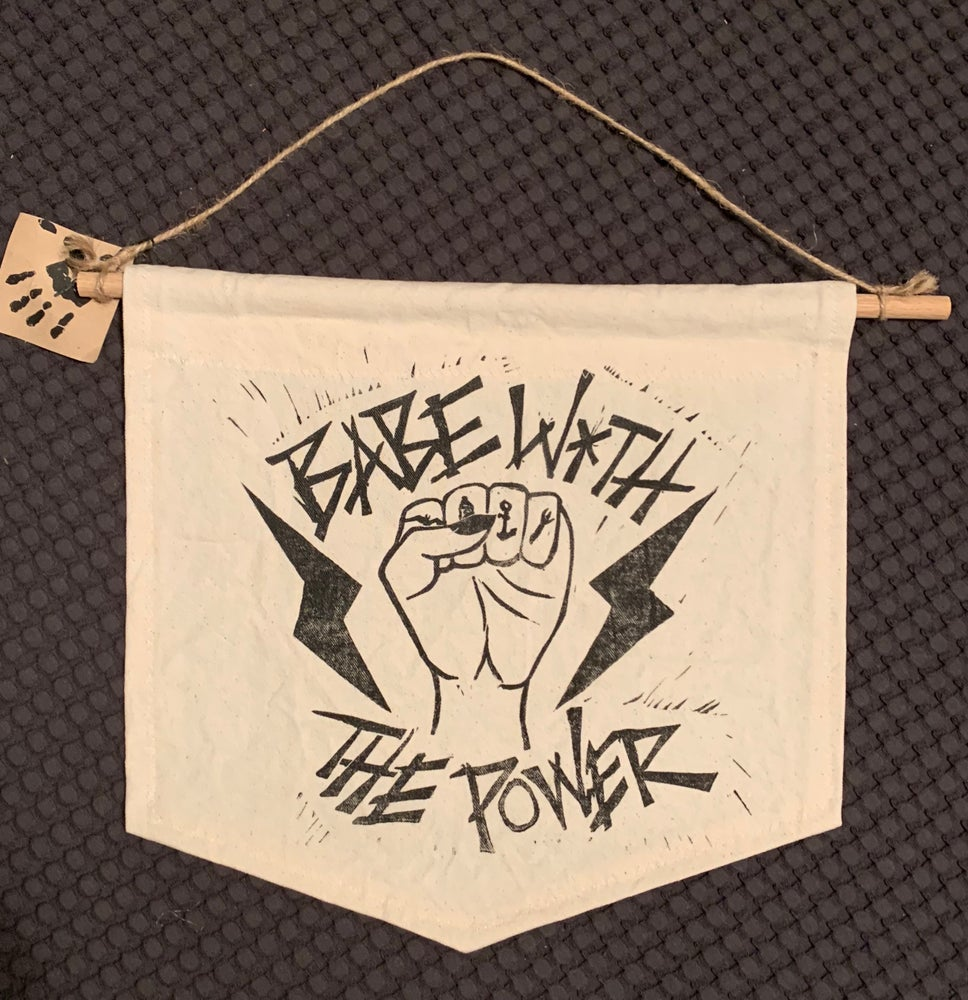 Image of Babe With the Power Banner
