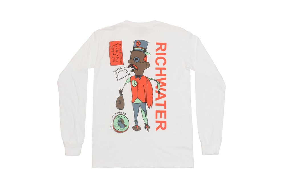 "Image of RICHWATER ""We Did Great"" Longsleeve"