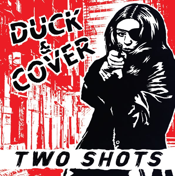 "Image of Duck & Cover - Two Shots 7"" (color vinyl - State Line Records release)"