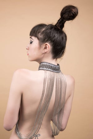 Image of Connected collar & cuff set