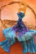 Image of Distant Hills - Crinkle Silk Pongee Scarf