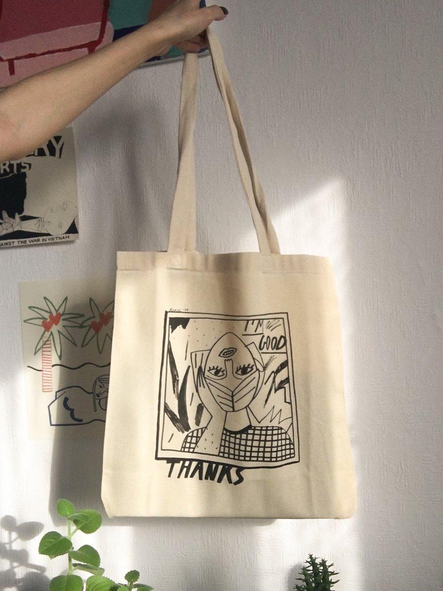 """Image of """"yeah lol"""" tote bag"""