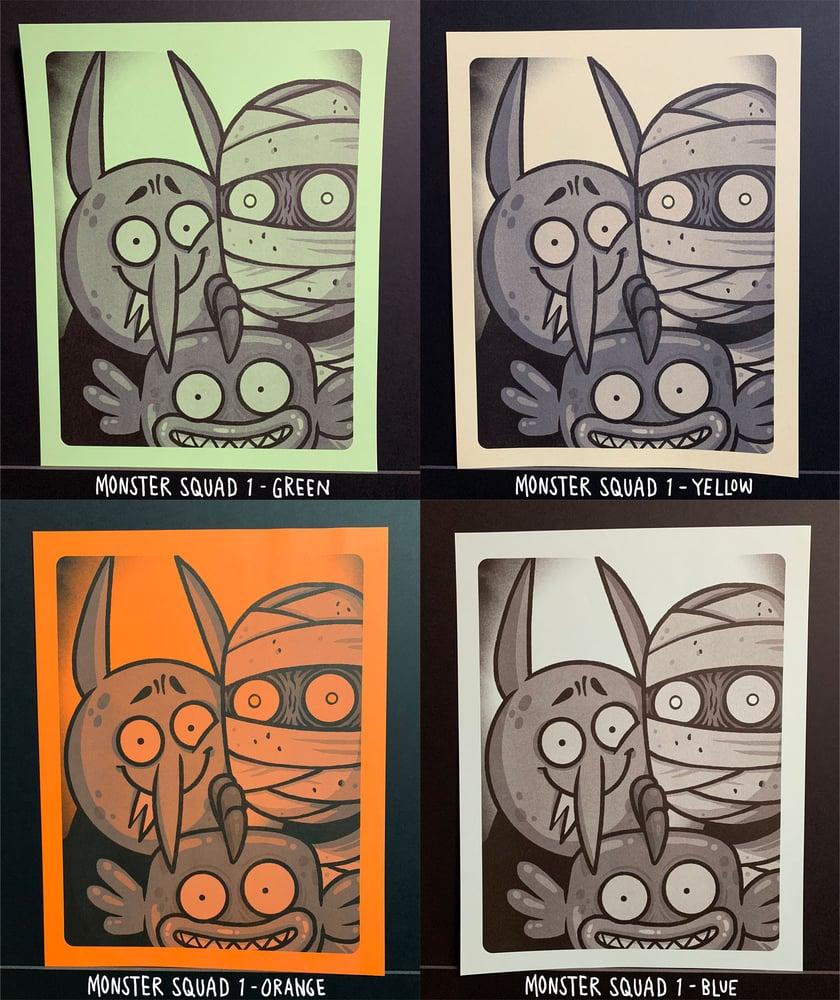 Image of Hammoween Riso Prints B