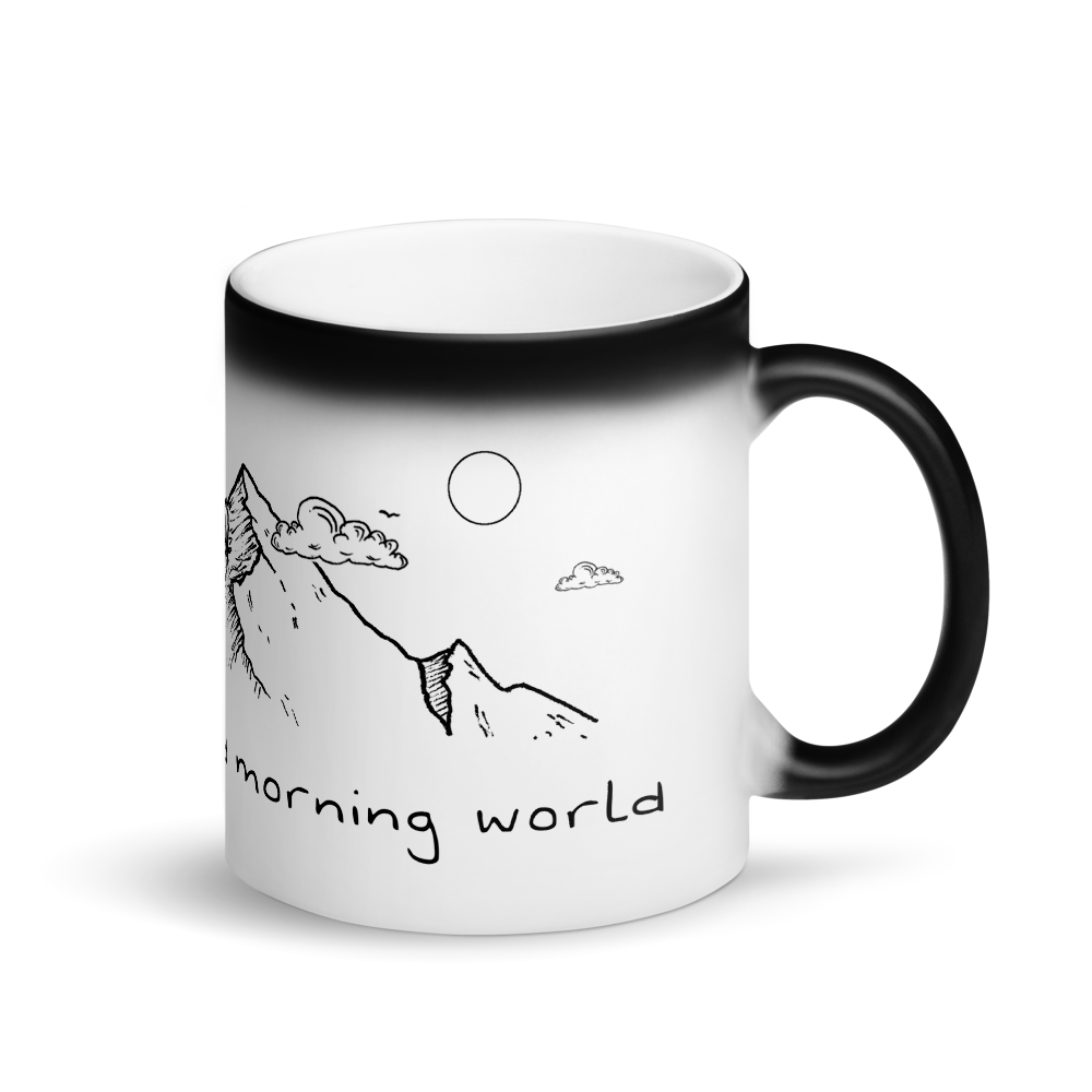 Image of Good Morning World Magic Mug