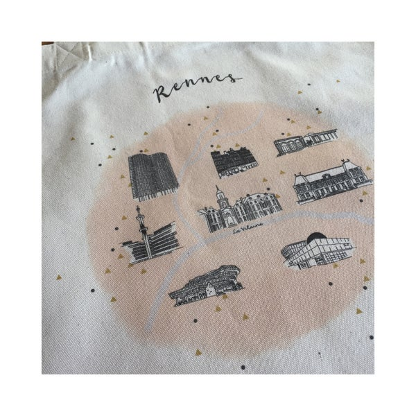 Image of Tote bag Rennes