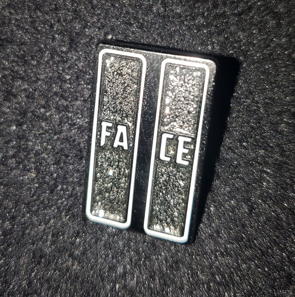 Image of 2face Pin