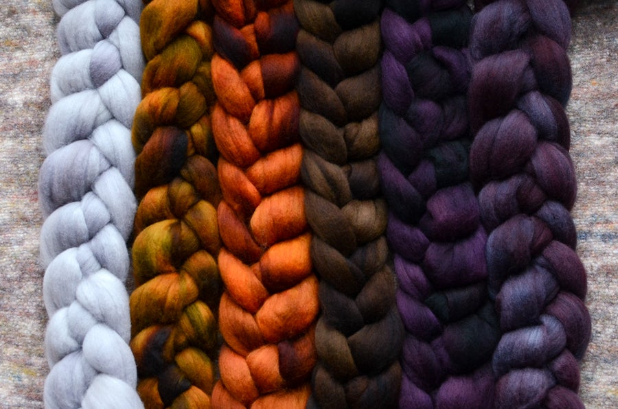 Image of October Fiber Club Coordinate Pack- PRE-ORDER - OPEN TO ALL - 6 oz.