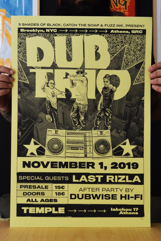Image of Dub Trio w/ Last Rizla & Dubwise Hi-Fi