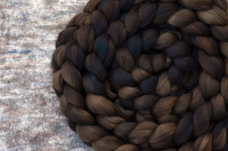 """Image of """"Toasted"""" October Fiber Club Coordinates- PRE-ORDER - OPEN TO ALL - 4 oz."""