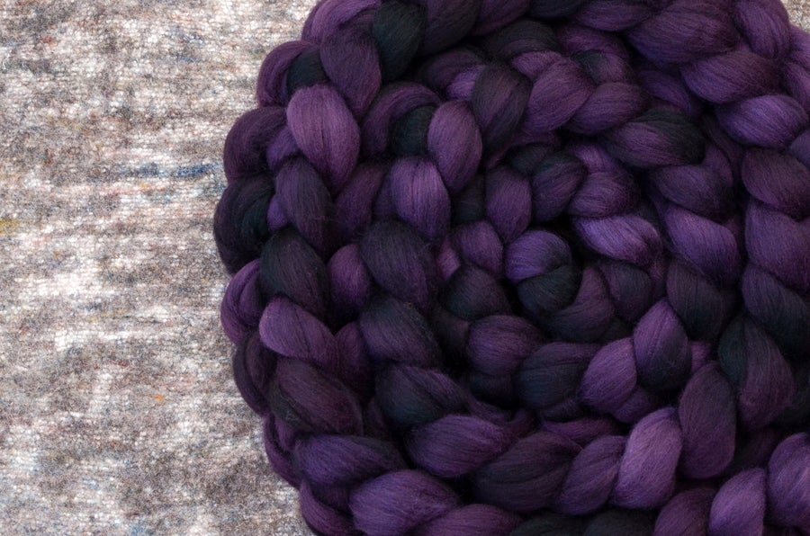 "Image of ""Raisin"" October Fiber Club Coordinates- PRE-ORDER - OPEN TO ALL - 4 oz."