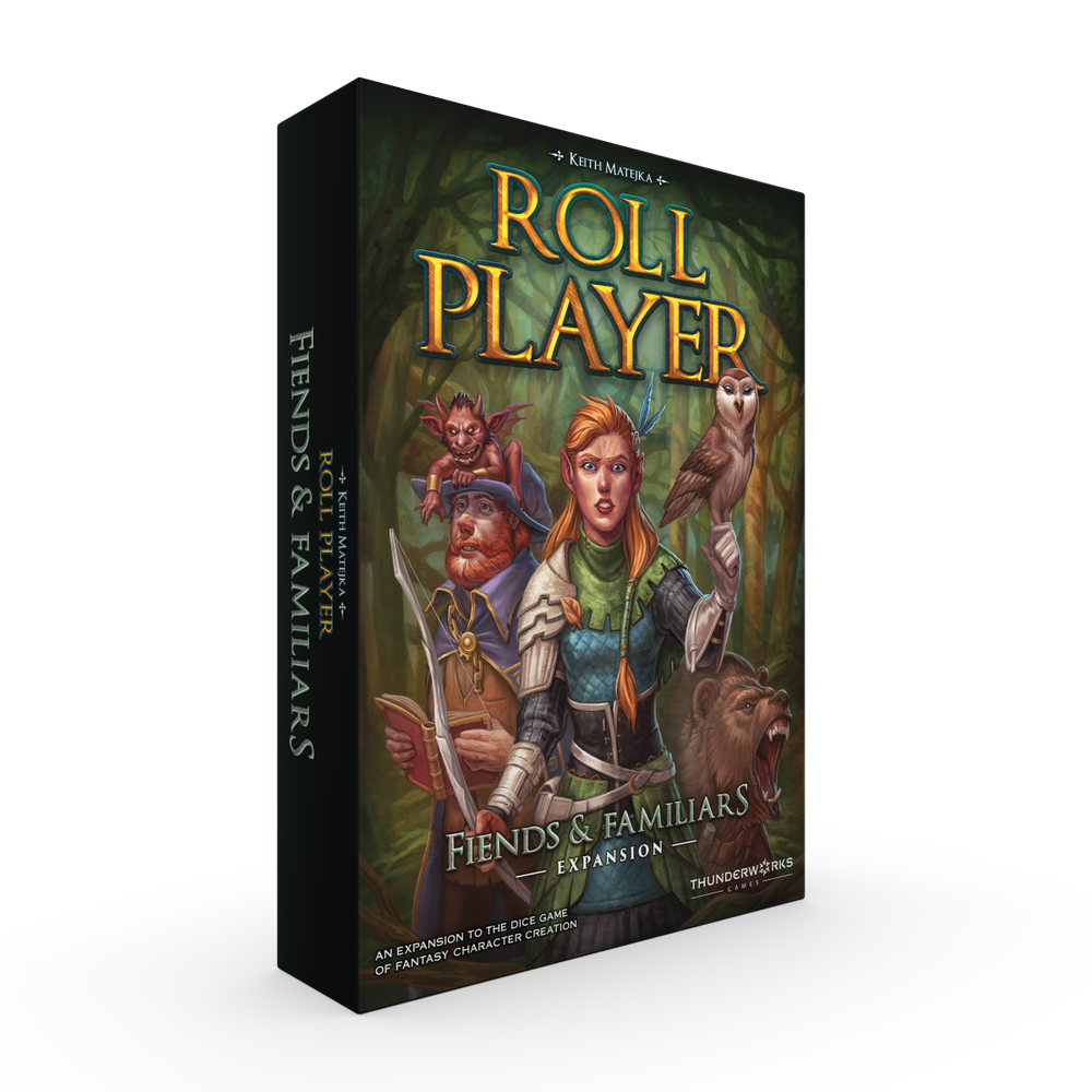 Image of PREORDER - Roll Player: Fiends & Familiars (regular version)
