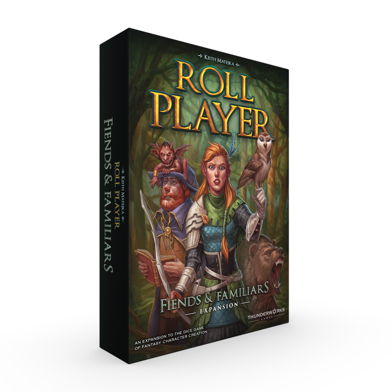 Image of Roll Player: Fiends & Familiars (regular version)