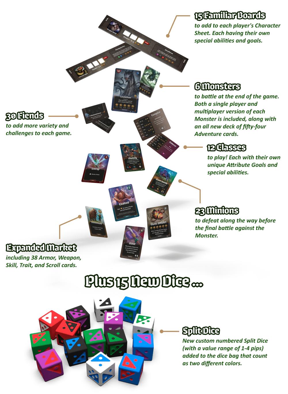 Roll Player Fiends & Familiars (regular version)