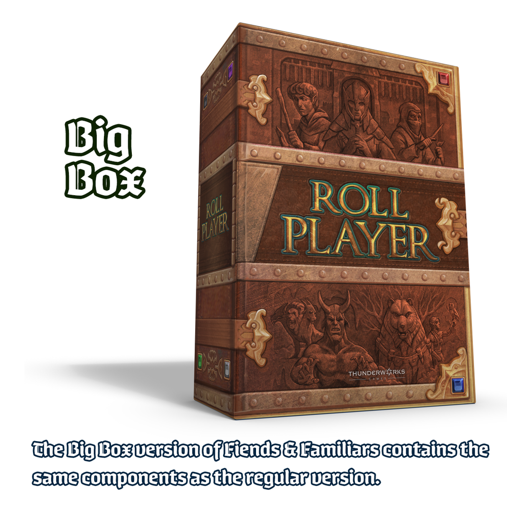 Image of PREORDER - Roll Player: Fiends & Familiars - BIG BOX