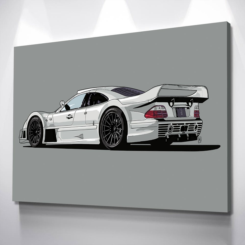 """Image of FREE 16""""x12"""" Canvas + Digital Drawing of YOUR Car"""