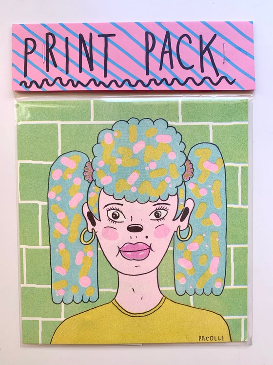 Image of riso print pack