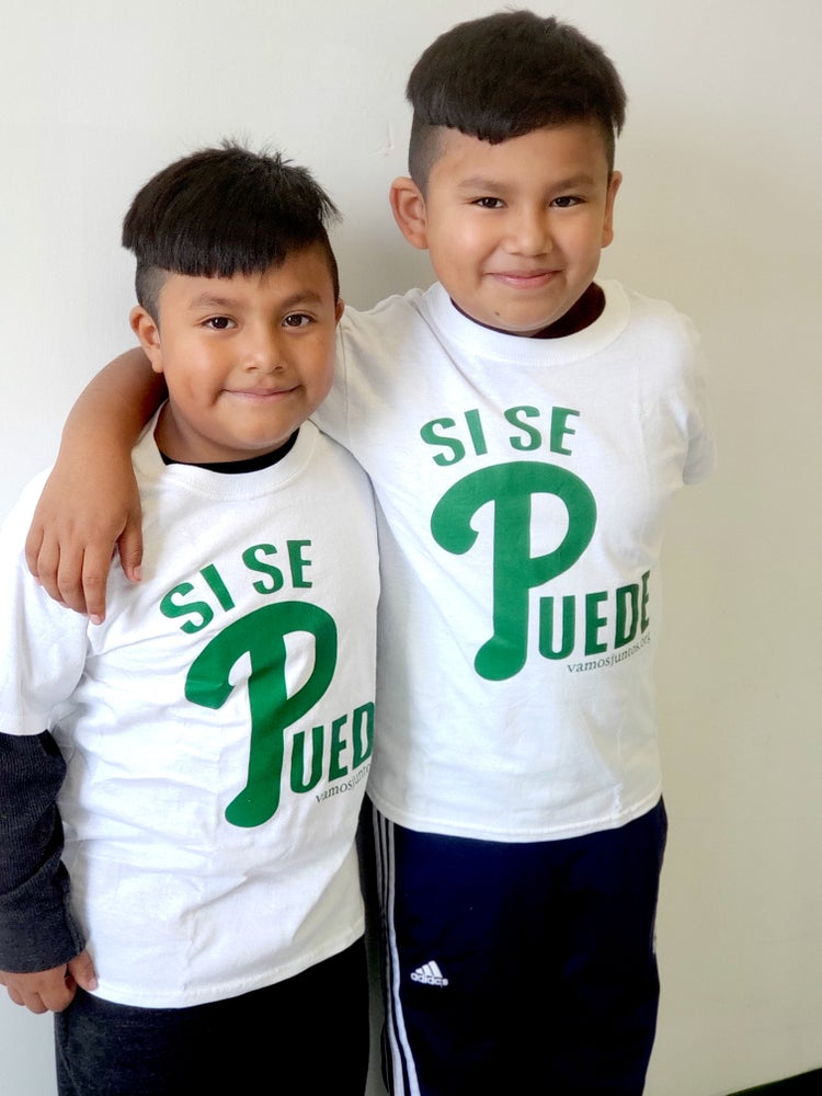 "Image of Kids ""Si Se Puede!"" Shirts (Limited Quantity)"