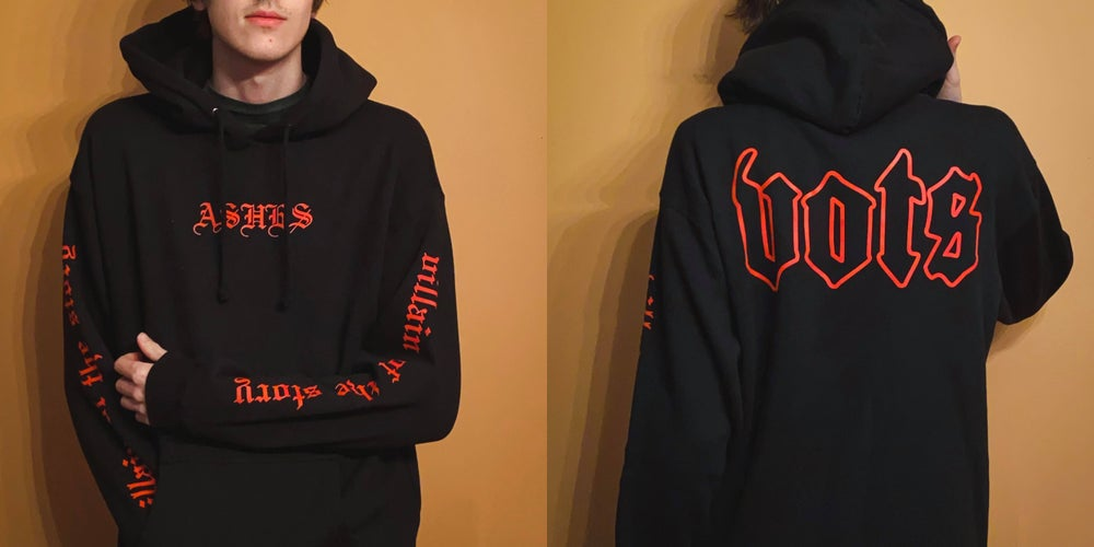 Image of Ashes Hoodie (Premium Quality)