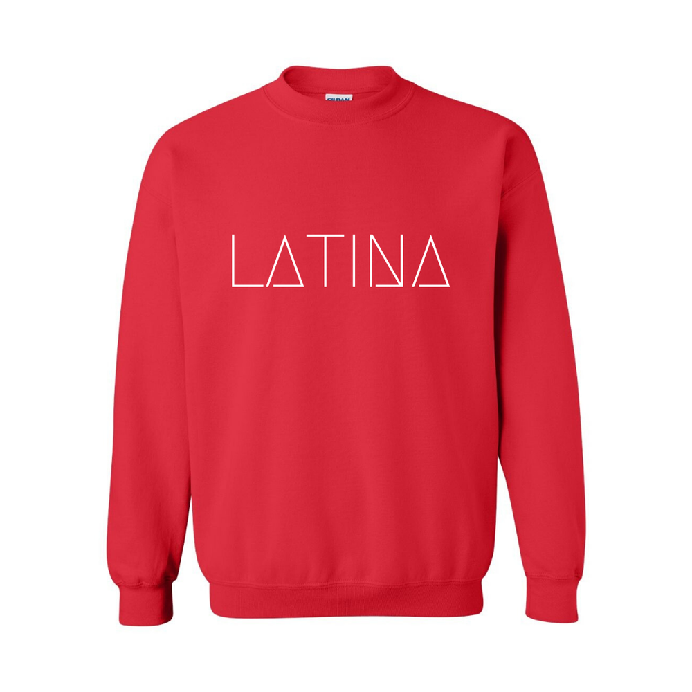 Image of RED LATINA SWEATSHIRT