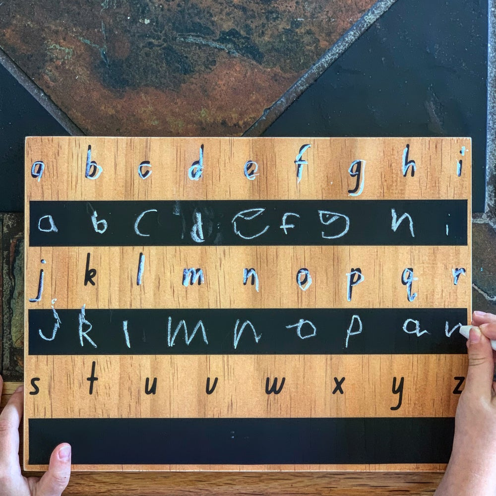 Image of Trace Me ! Series Lowercase Alphabet Board