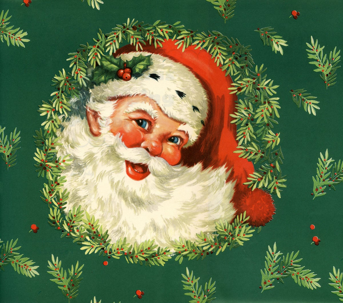 Image of santa at the farm