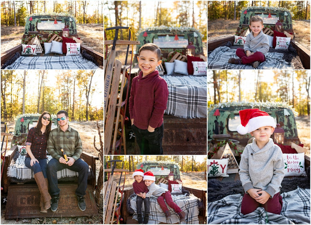 Image of Cozy Truck Winter Minis - By Albermarle River Estates/Townebank/Howard Hanna Town Center
