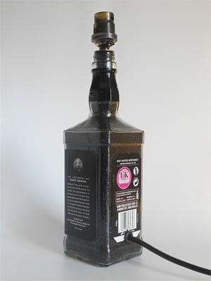 Image of BLACK Jack Daniel's Bottle Lamp Deal