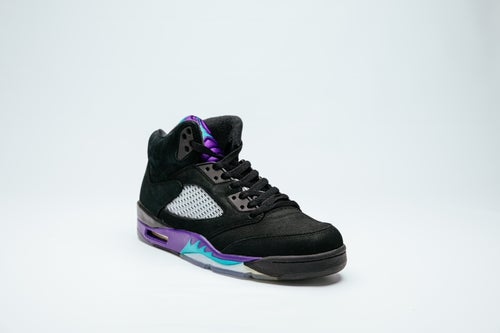 Image of Air Jordan 5 Retro - Blk Grape
