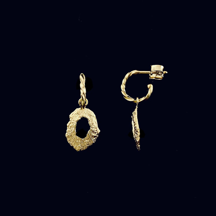 Image of Saray / 24k gold-coated silver