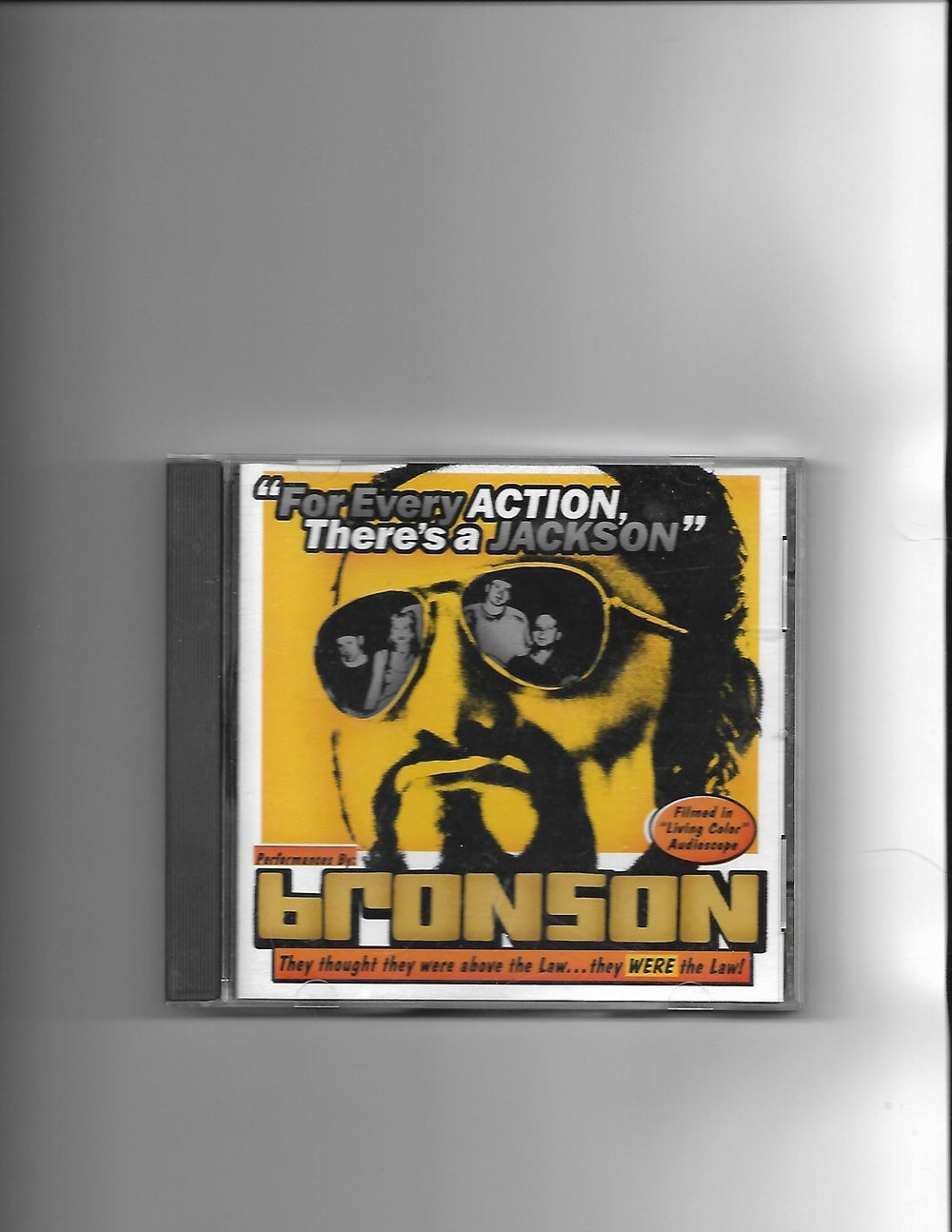 "Image of Bronson ""For Every Action, There's a Jackson"" CD"