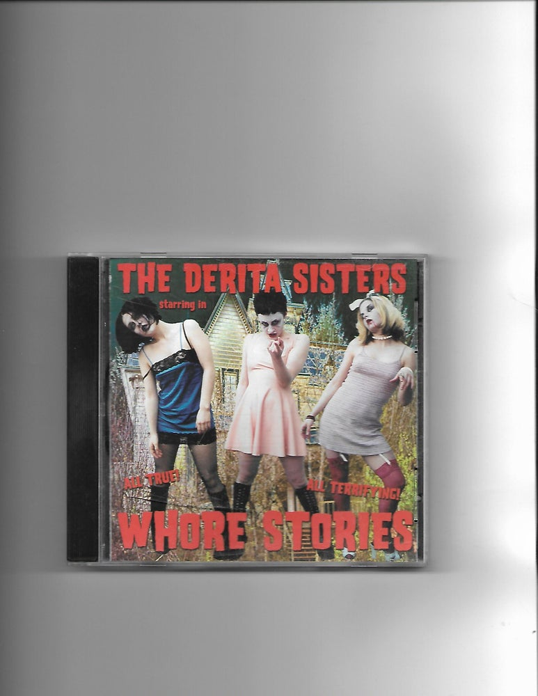 "Image of The Derita Sisters ""Whore Stories"" CD"
